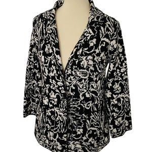 Anthropologie Ettiwa Brocade Cardigan Blazer